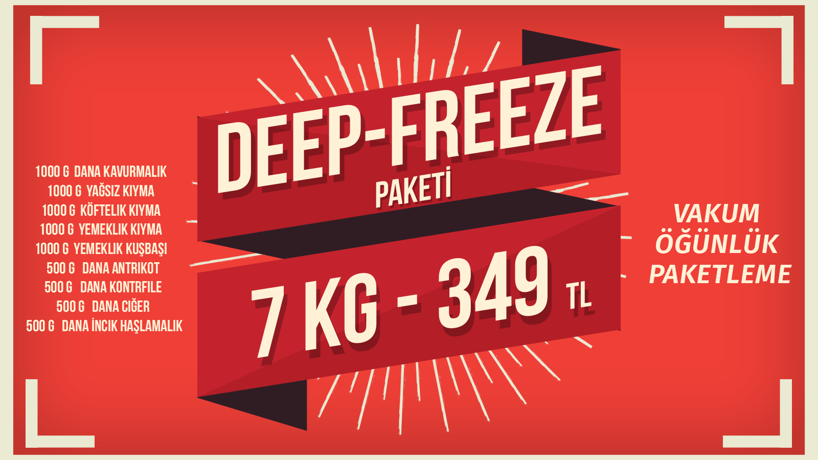 DEEP-FREEZE PAKETİ